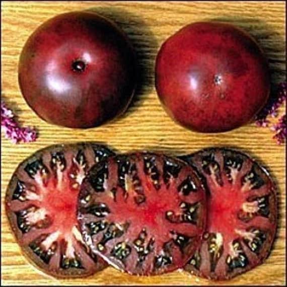 black krim tomato 30 seeds a russian heirloom tomato. Black Bedroom Furniture Sets. Home Design Ideas
