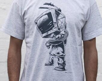 SALE zombobox gray t-shirt