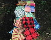 Way Cool Hand Loomed Potholders Set of 2