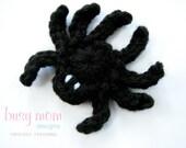 CROCHET PATTERN - Simple Spider Appliqué - Motif - Embellishment - PDF 207 - Sell what you Make