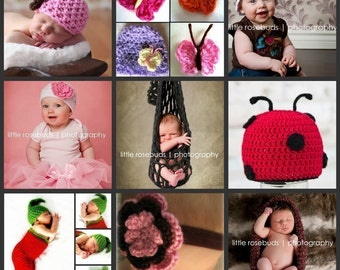 ANY 3 PATTERNS FOR 9 DOLLARS - Choose Any 3 Busy Mom Designs Crochet Patterns for Just 9 Dollars and SAVE