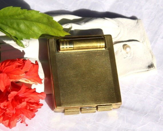 Rare Vintage Swiss Carryall Compact