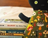 Black Cat Plush Rag Doll