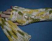 Cotton Fingerless Gloves 387