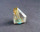 Faceted Gemstone - Rutilated Quartz