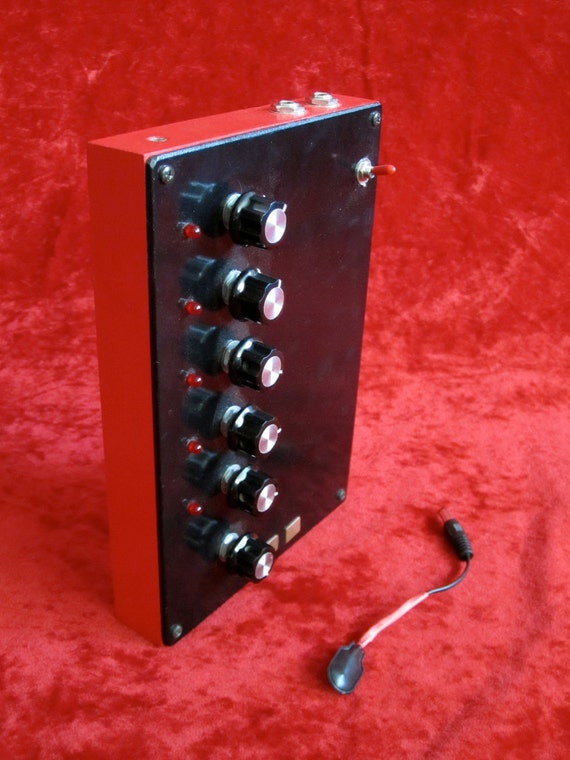 5 Step CV Sequencer / Control Voltage / Body Contact / Touch Control / Analog Synth
