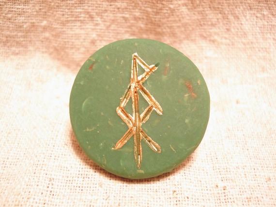Altar/Pocket Bind Rune, Prosperity with Herbs