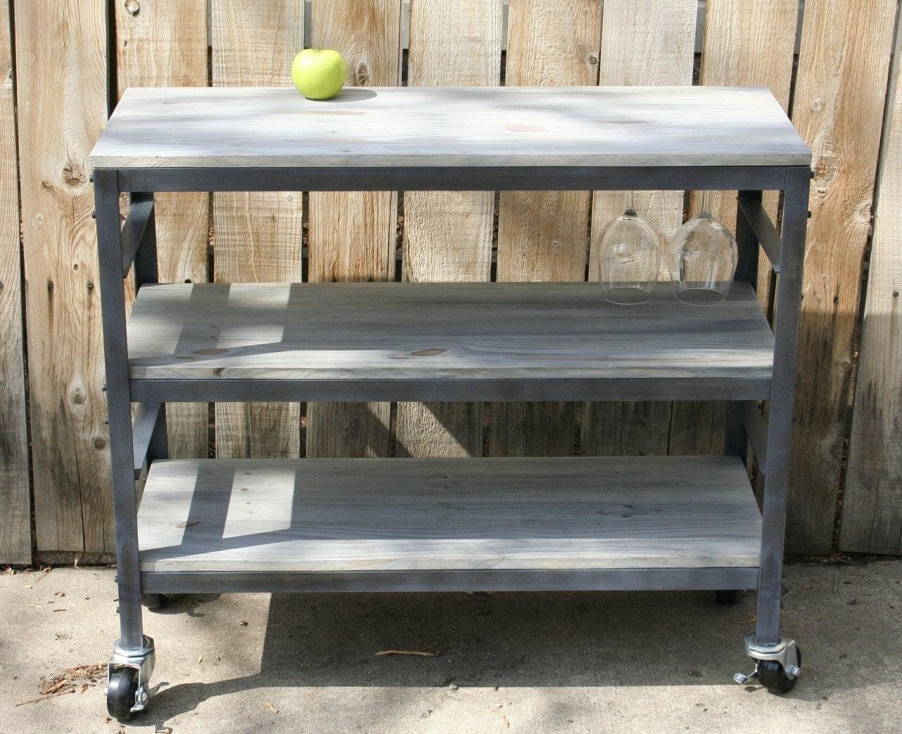 Kitchen cart metal -  Zoom
