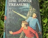 Vintage 'The Hardy Boys' Book - ''The Tower Treasure''