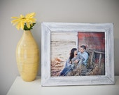 2-8x10 or 8x8 Rustic Weathered picture frames.