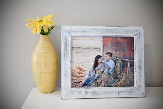 8x8 or 8x10 Picture frame, Rustic Weathered style