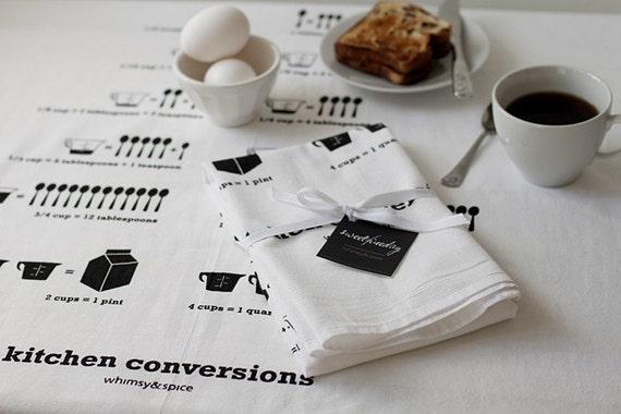 kitchen conversions 30x30 inch floursack tea towel