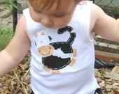 Cow Diaper Cover Set