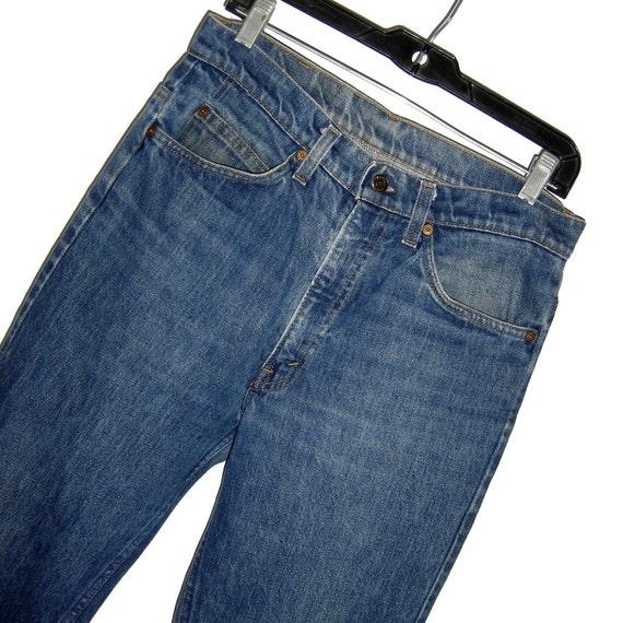 Vintage 1981 LEVIS LEVI'S 517 Orange Tab Boot Cut Jeans 32 x 34 meas. 31 x 32.5