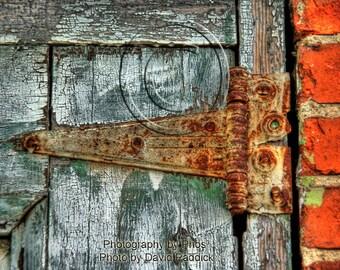 Old Hinge - Fine Art Photograph