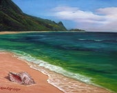 Half off SALE-  There is No Other Place I'd Rather Be Than All Washed Up in Kauai