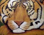 My Tiger Grrrrr by Artist Kathy McCartney