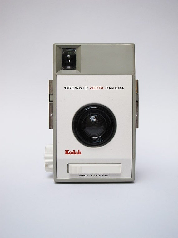 Vintage Kodak Brownie Vecta - 1963 - A Design Classic by Kenneth Grange