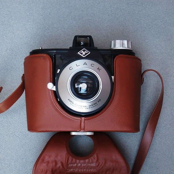 Agfa CLACK Vintage Camera - 1959 - 120  Film - A Very Cool Camera