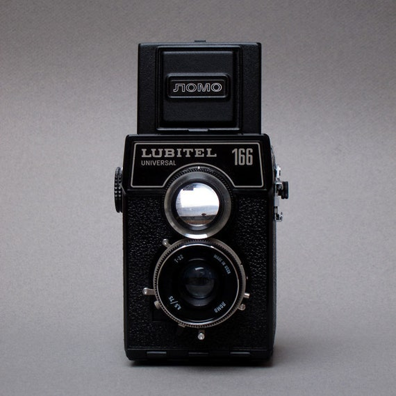 Lomo Lubitel 166 Vintage Camera - 1977 - 120 Film Twin Lens Reflex to Shoot from the Hip