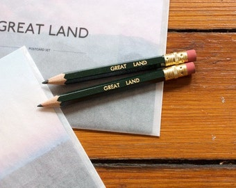 Great Land - Postcards and Pencil Set