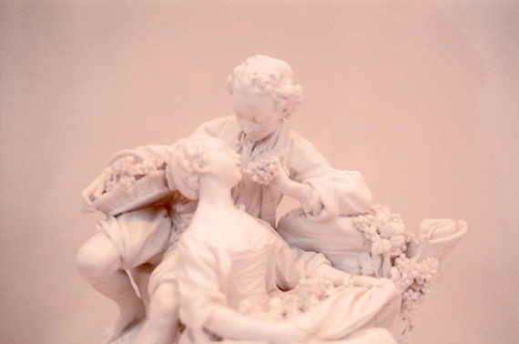 Pink Rococo Romance Print