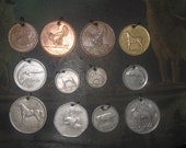 Wholesale Lot Of 12 Irish Coin  Pendants Create Your Own Lot