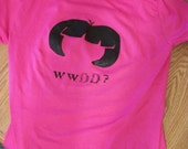 Women's Med Tee ships free- What Would Dora Do - Free Shipping USA