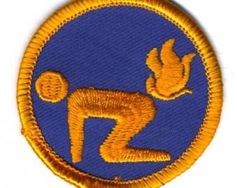Ass Fire Badge