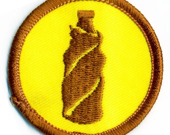 Brown Bagging Badge