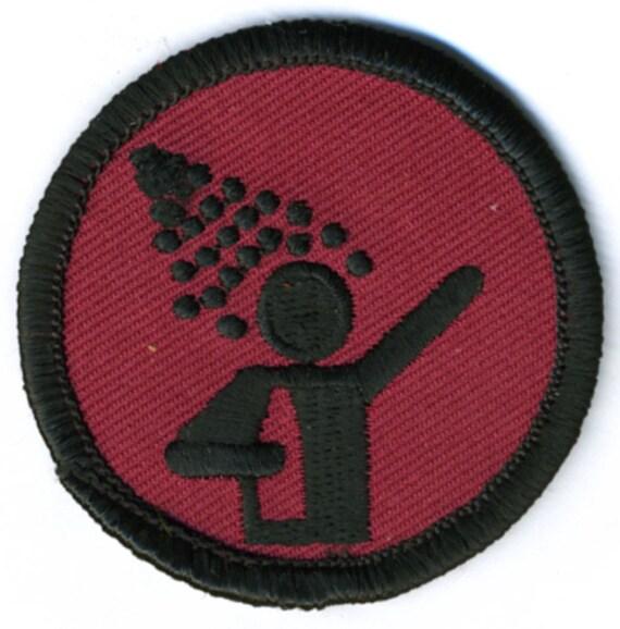 Drunk Showering Badge
