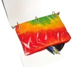 Tie Dye Organizing Case for 3 Ring Binder with Zipper   Back to School  Pencil Case Ready to Ship School Supplies Kids Gift