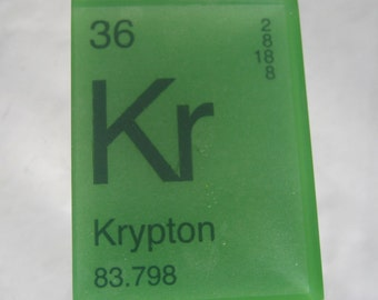In Your ELEMENT - Periodic Table Soap - KRYPTON - Vegan