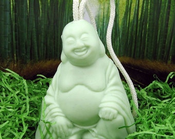 I Cant Believe Its Not BUDDHA - Soap on a ROPE - Green Tea Scent - VEGAN
