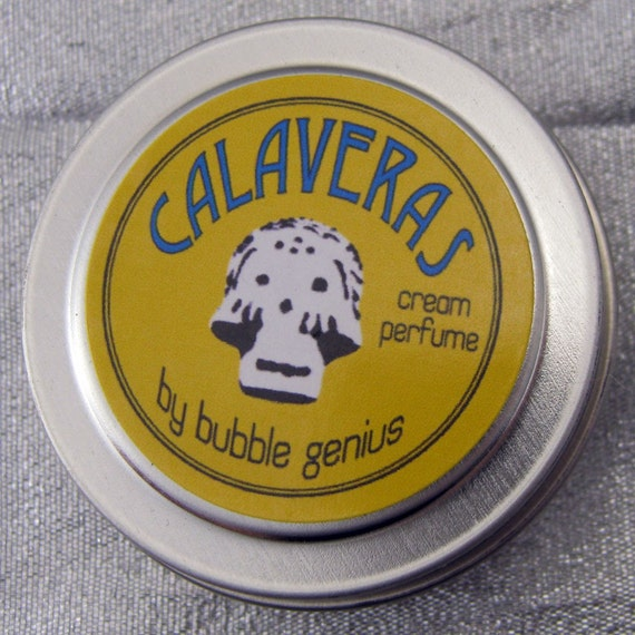 CLOSEOUT Sale! CALAVERAS Cream Perfume - MARIGOLD blend - Vegan