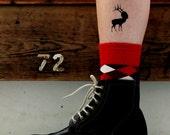 Bestiario Elk Temporary  Tattoo