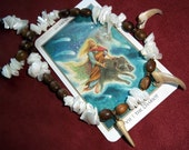 RESERVED for Jennifer Lawrence Freyja Lynx Claw Necklace