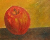 Still Life - Apple Original Painting