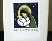 Christmas Cards - God Is With Us - Set of 12