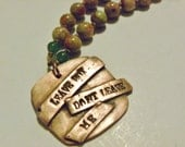 Leave But Don't Leave Me Necklace