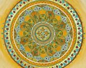 ROYAL MANDALA - Mandalamagic1 Original Mandala Art - Chakra Art - Chakra Mandalas - Buddhism Art