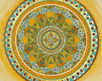 royal mandala mandalamagic1 original mandala art chakra art chakra mandalas buddhism art