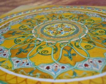 Royal Sinai mandala - Fine Art Signed Print - Mandalamagic1 Original Mandala Art - Circle Mandala - Geometric Mandala - Home Deocr
