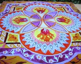 Joy mandala - Mandalamagic1 Original Mandala Art - Chakra Art - Chakra Mandalas - Buddhism Art - Abstract Art
