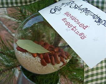 Louisiana Red Beans & Rice Ornament