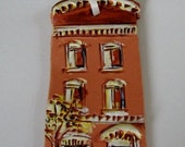 Baltimore Clay Rowhouse Ornament