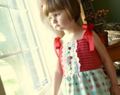 Baby Girl Dress Pattern -  The Amelia Design - Easy PDF Sewing Tutorial
