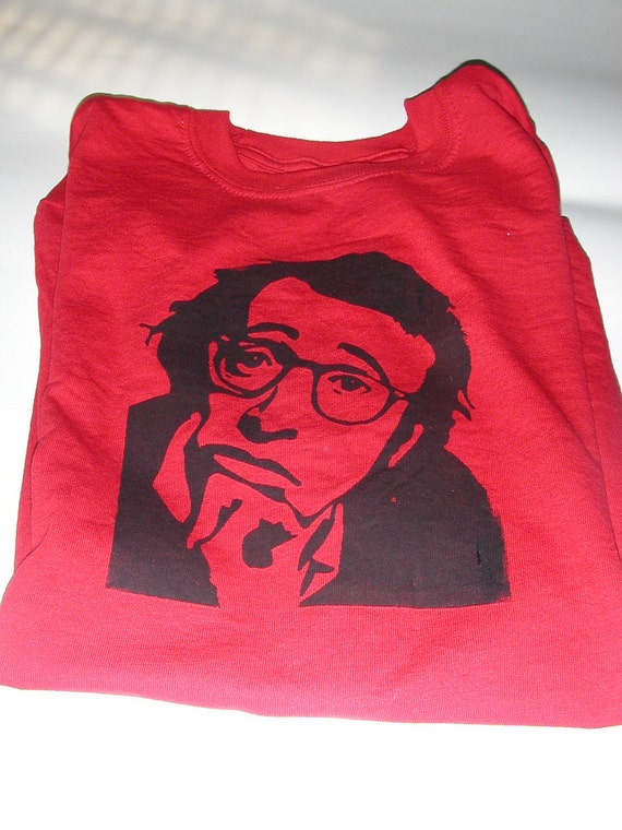 Woody Allen Tshirt Adult Size Small S Clearance By