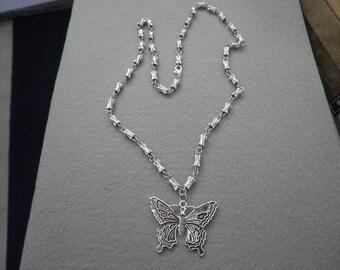 Sale Butterfly Necklace, Bracelet and Earring Set