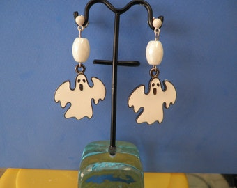 Flying Ghost Earrings